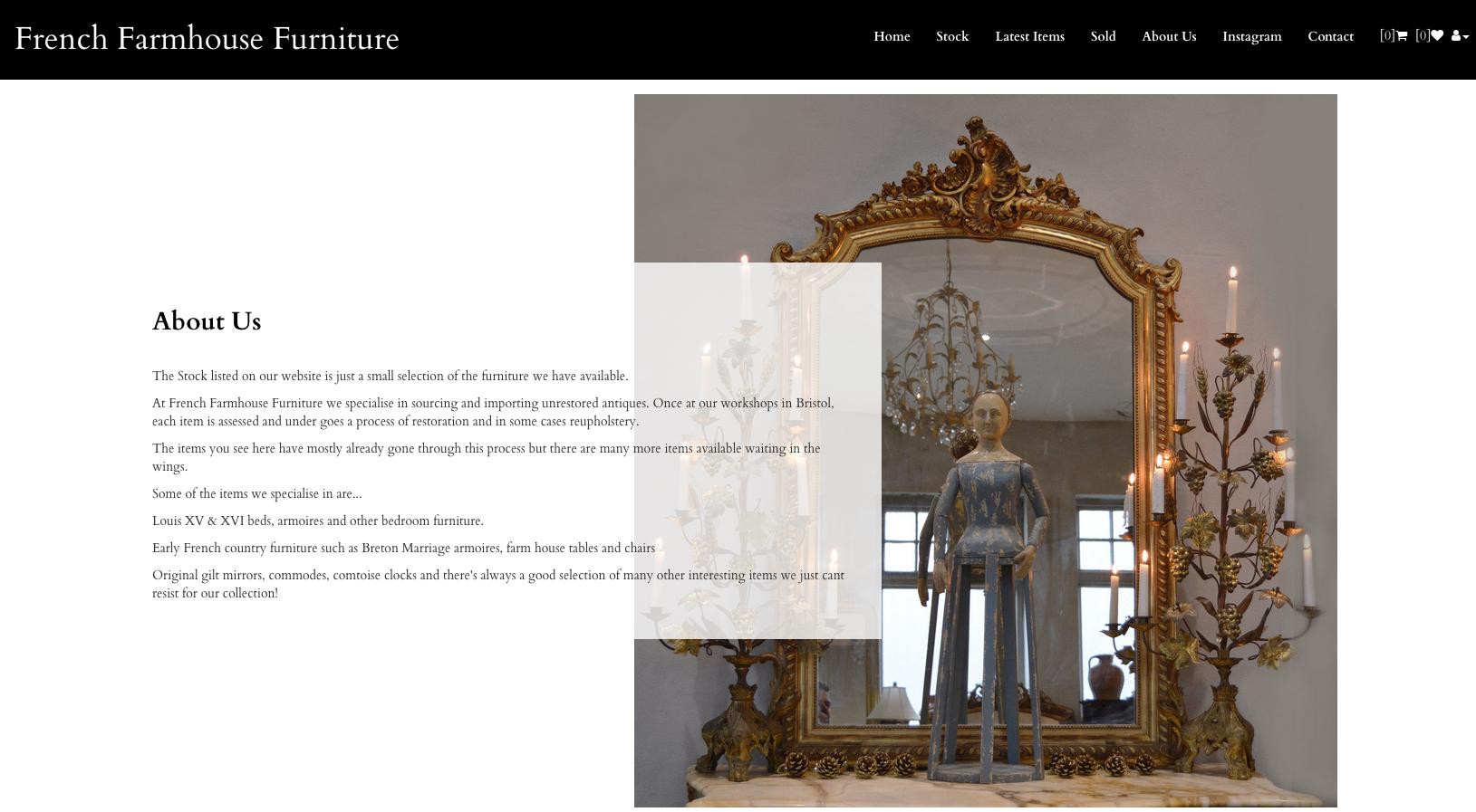 french farmhouse furniture