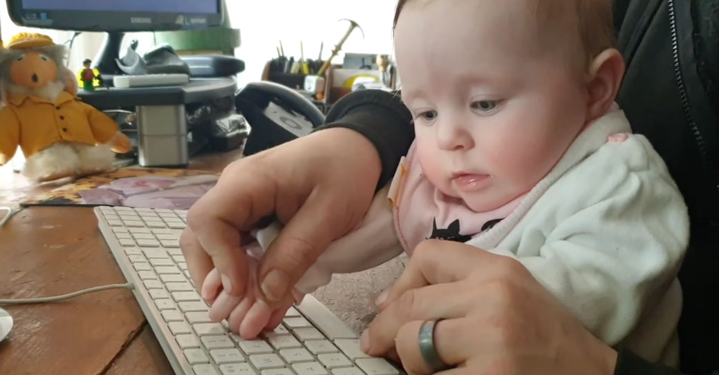 refreshing your web browser so easy a baby could do it
