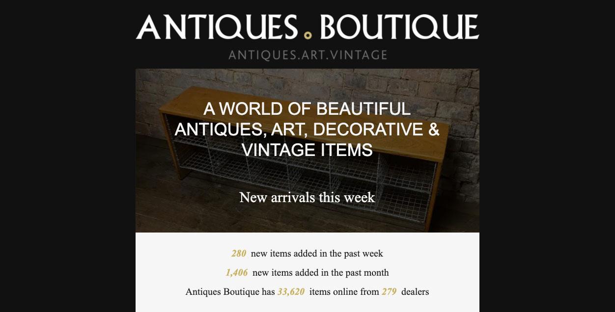 antiques boutique