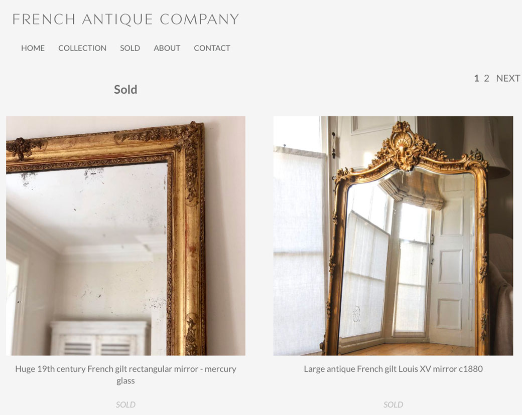 french antique company sold
