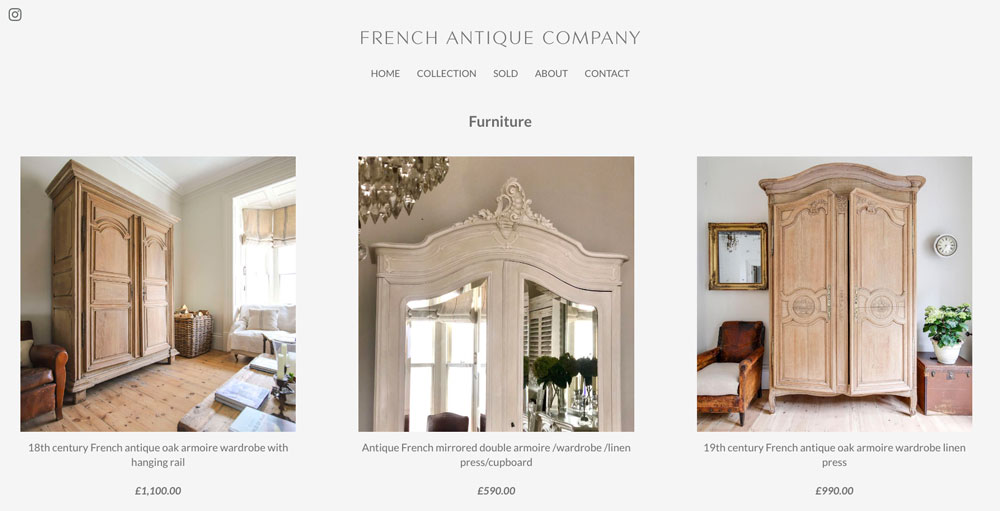french antique company