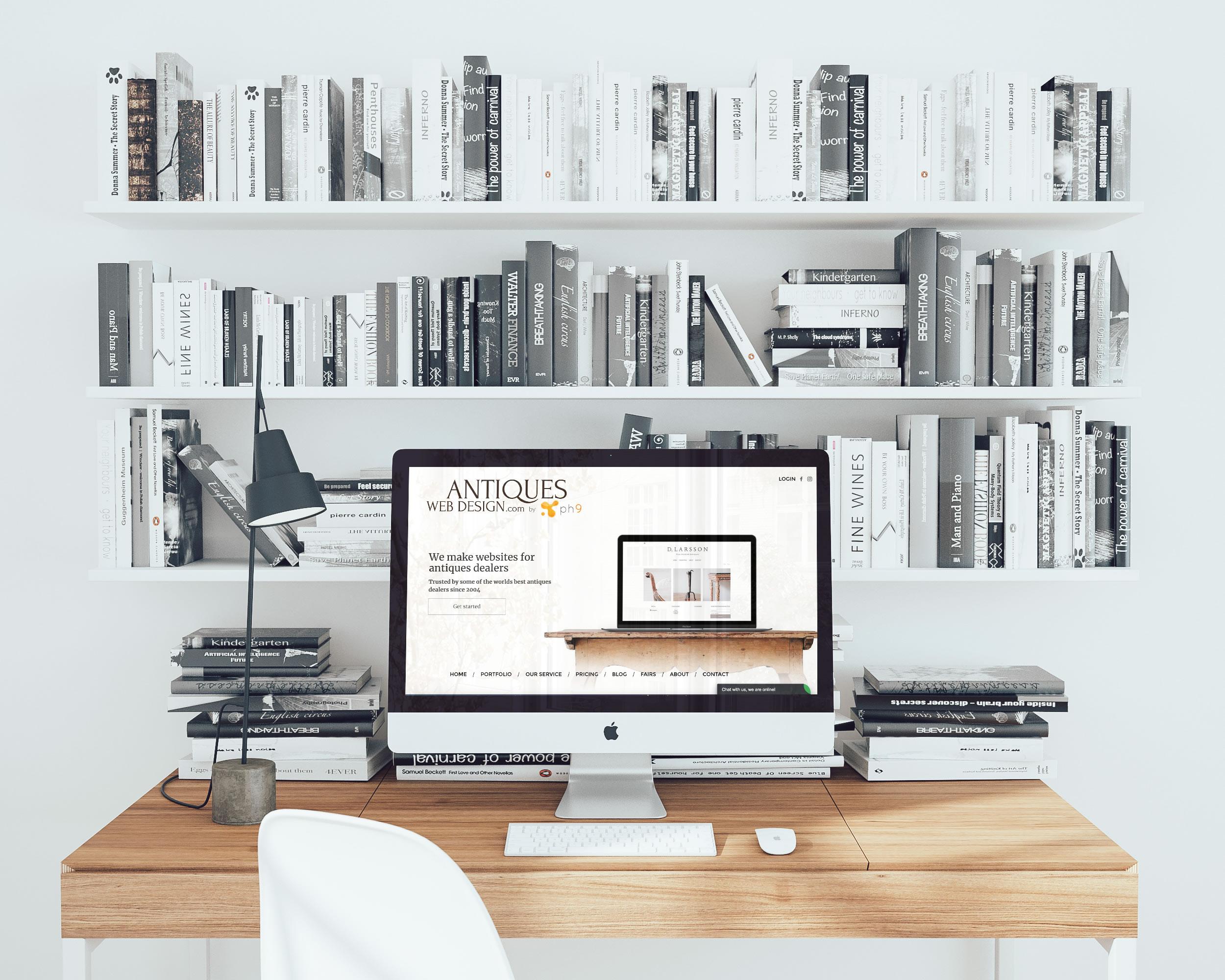 Antiques Web Design