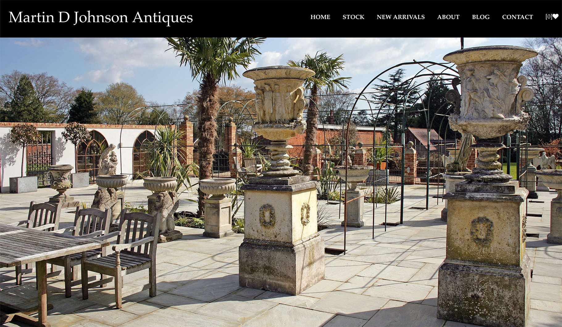 New sites using Carsington theme