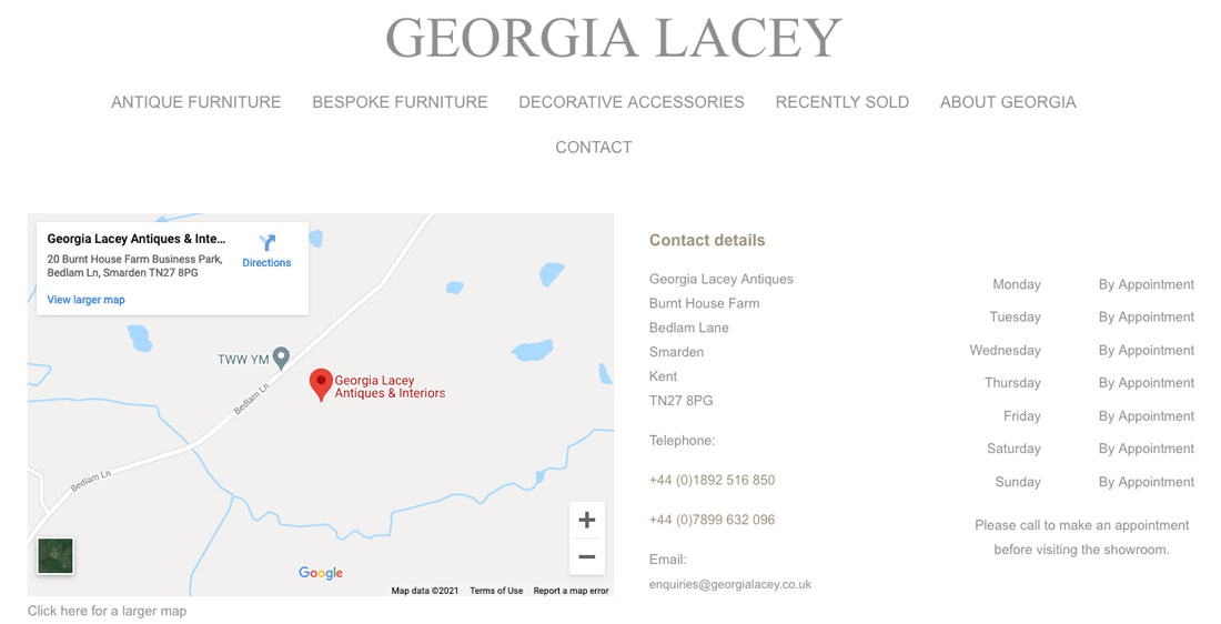 Establish trust Georgia lacey