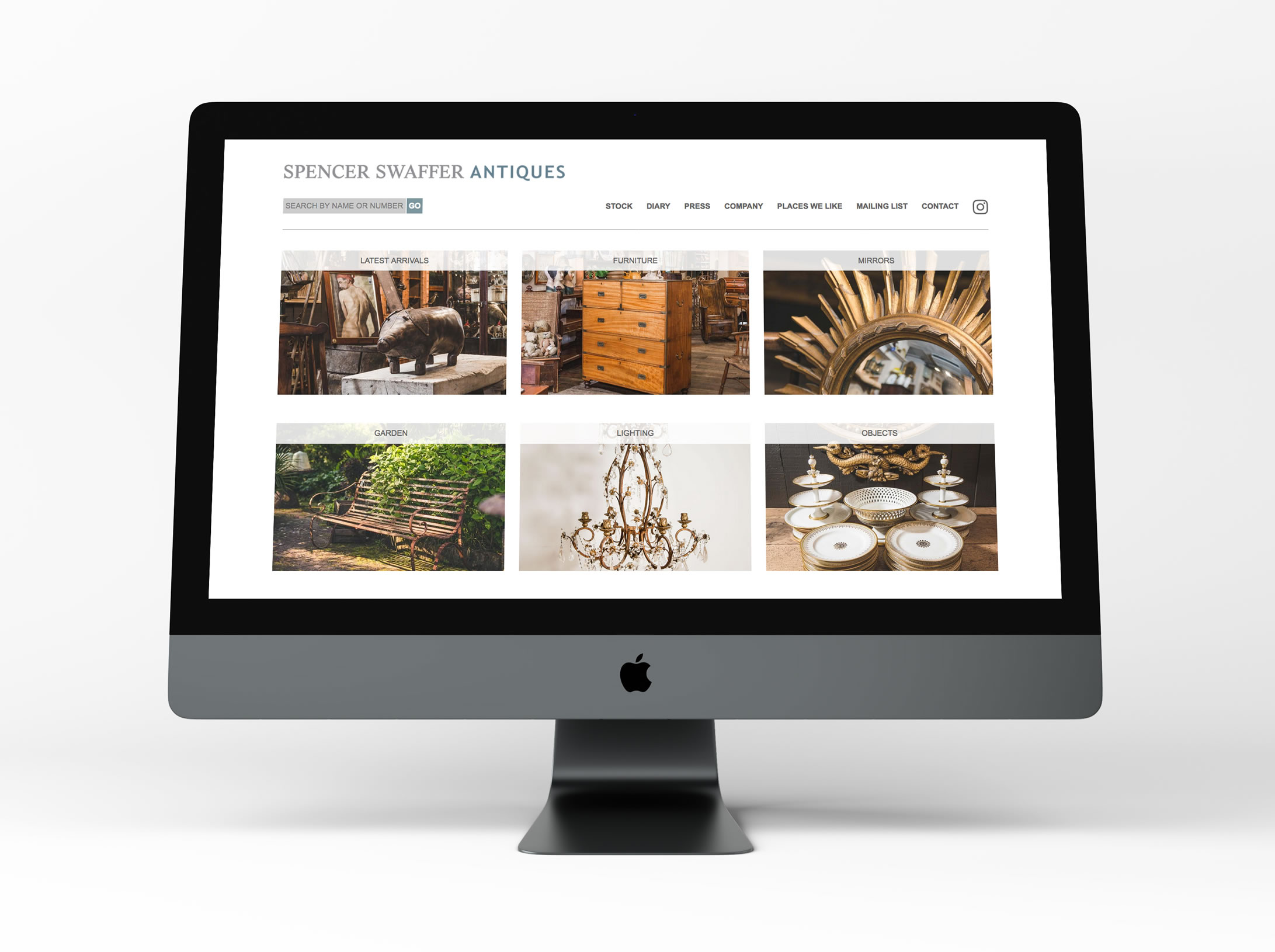 Spencer Swaffer Antiques - New Website