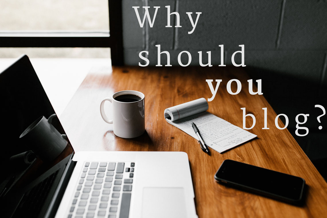 why you should use your blog