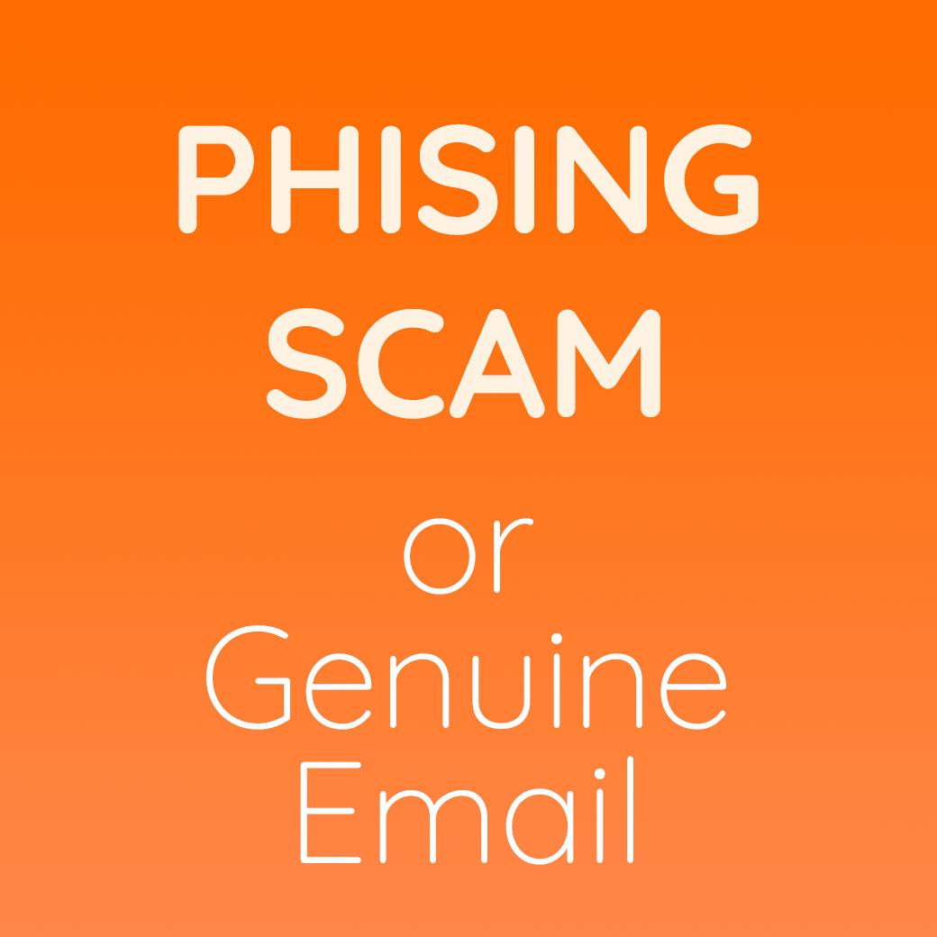 how to tell if something is phishing
