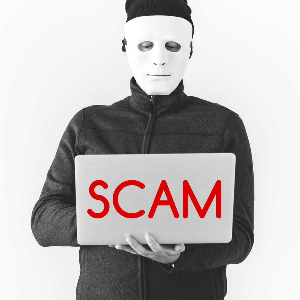 Email scam with hackers claim they have your password