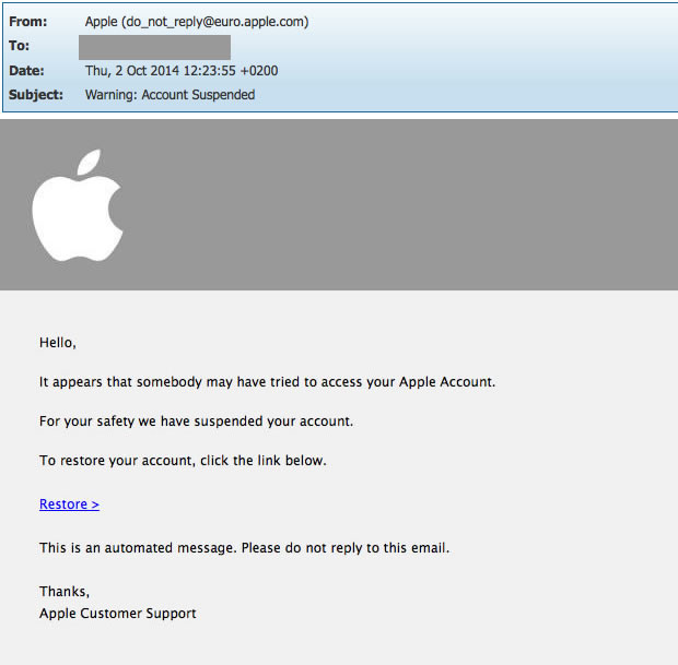 apple mail pdf from one sender will not open