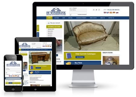 Responsive website. Click here for more info