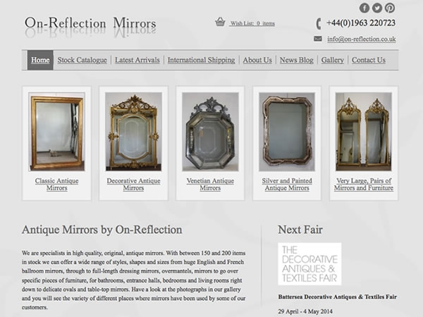 On-Reflection Antique Mirrors